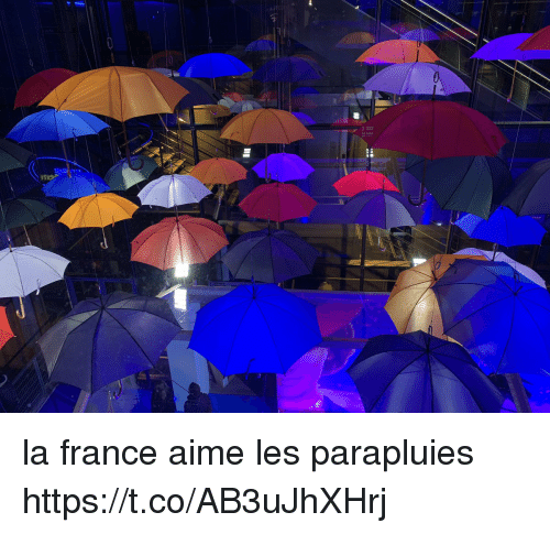 aime: la france aime les parapluies https://t.co/AB3uJhXHrj