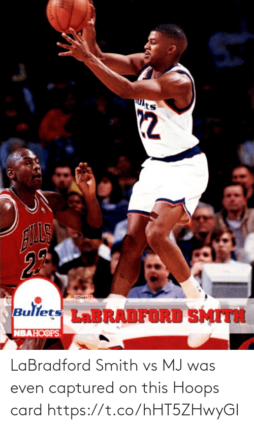 card: LaBradford Smith vs MJ was even captured on this Hoops card https://t.co/hHT5ZHwyGI