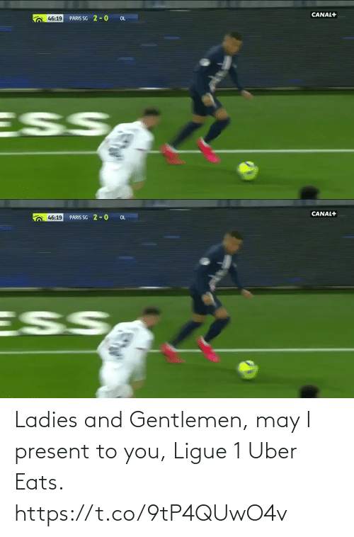 Uber: Ladies and Gentlemen, may I present to you, Ligue 1 Uber Eats. https://t.co/9tP4QUwO4v
