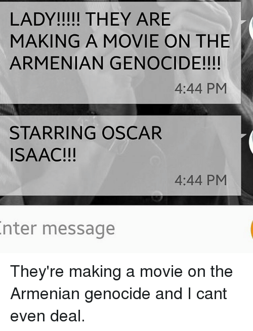 armenian genocide thesis statement