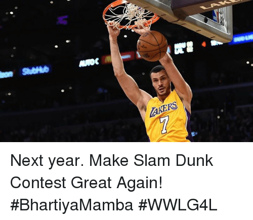 Dunk Contest 2017: Funny Los Angeles Lakers Memes Of 2017 On SIZZLE