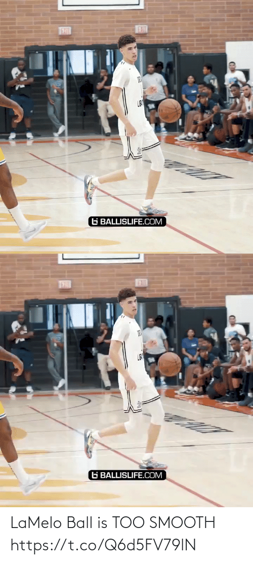 ball: LaMelo Ball is TOO SMOOTH https://t.co/Q6d5FV79lN
