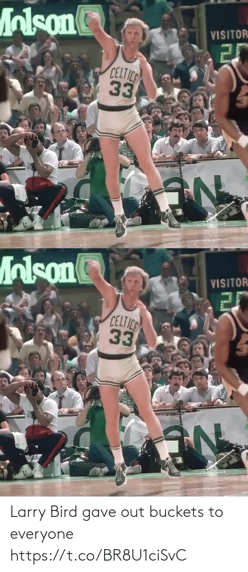 Larry: Larry Bird gave out buckets to everyone https://t.co/BR8U1ciSvC