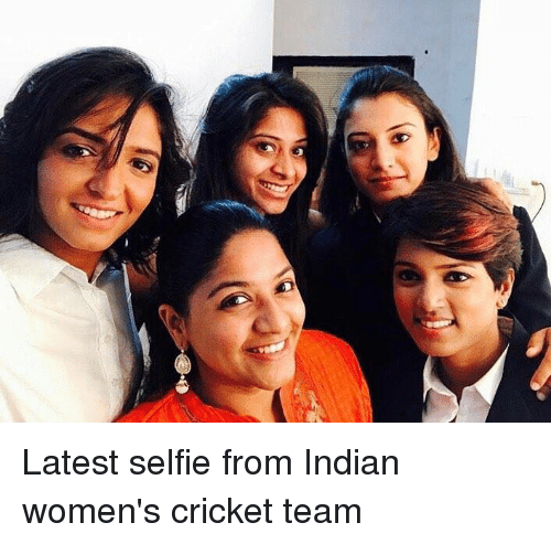 crickets: Latest selfie from Indian women's cricket team