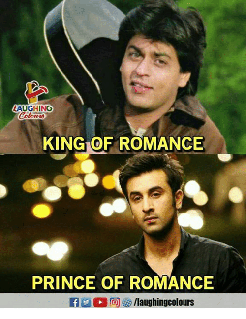 Prince, Indianpeoplefacebook, and King: LAUGHING  KING OF ROMANCE  PRINCE OF ROMANCE