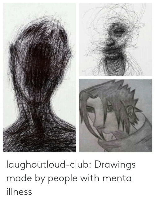 Illness: laughoutloud-club:  Drawings made by people with mental illness