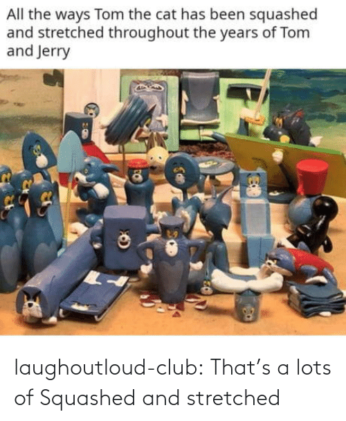 Lots Of: laughoutloud-club:  That's a lots of Squashed and stretched