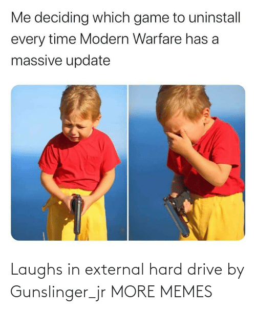 Drive By: Laughs in external hard drive by Gunslinger_jr MORE MEMES