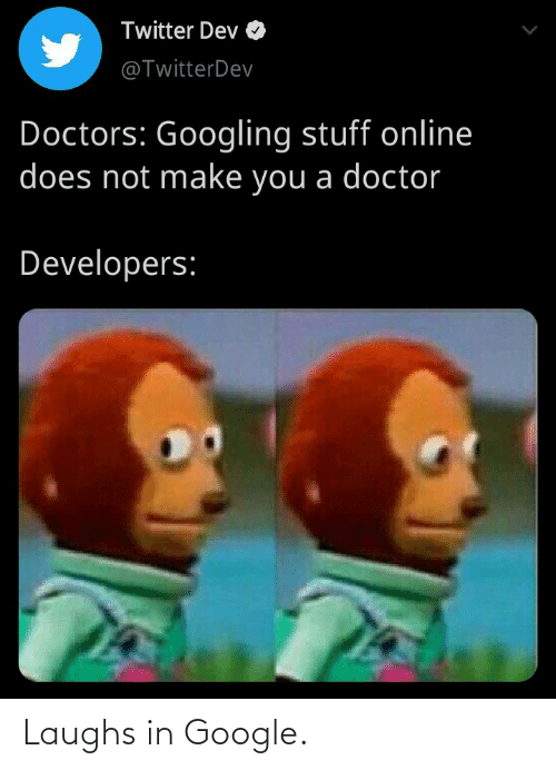 Laughs In: Laughs in Google.