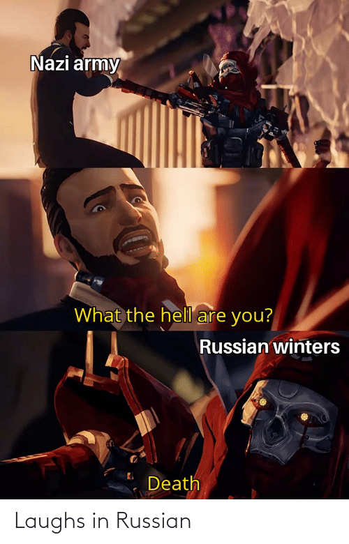 Russian: Laughs in Russian