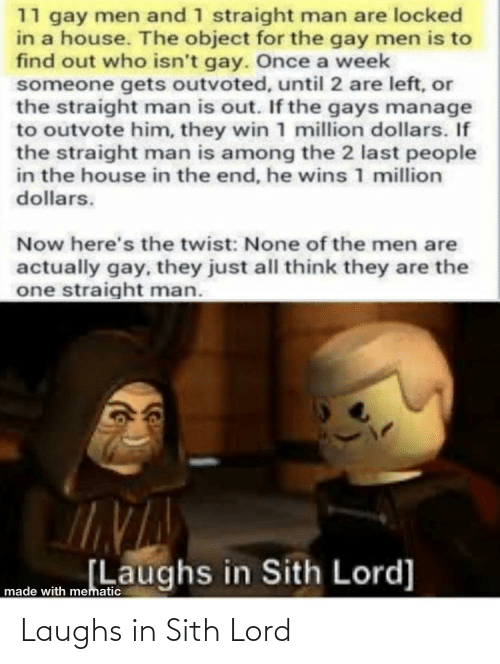 Sith: Laughs in Sith Lord