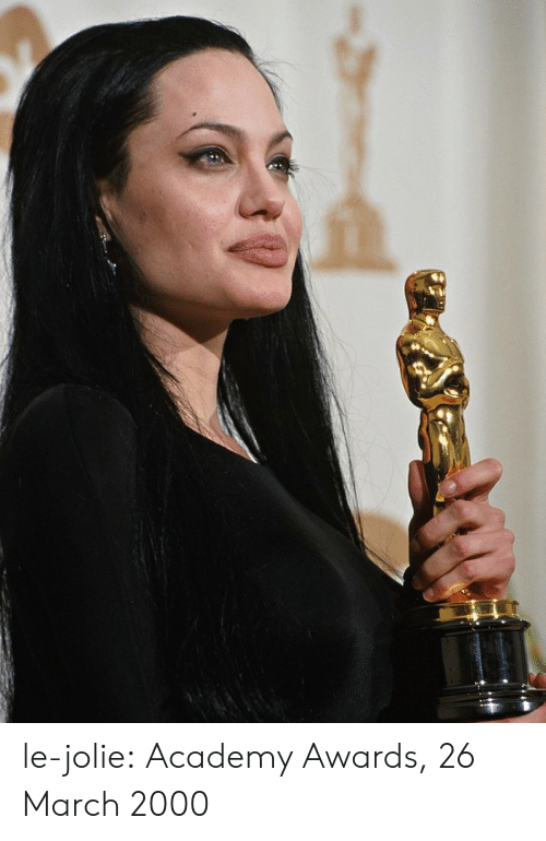 Academy Awards: le-jolie:  Academy Awards, 26 March 2000