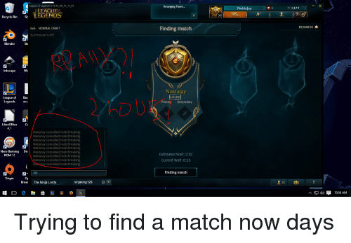 League of legends unbalanced matchmaking - Warsaw Local