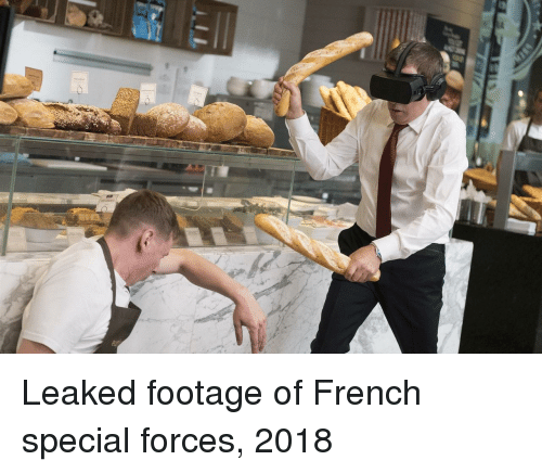 French, Special Forces, and Special: Leaked footage of French special forces, 2018