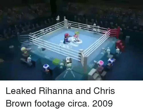 Chris Brown: Leaked Rihanna and Chris Brown footage circa. 2009