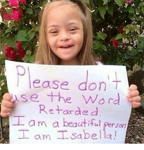 leasing: lease don T  se the word  Retarded  I am Isabella!