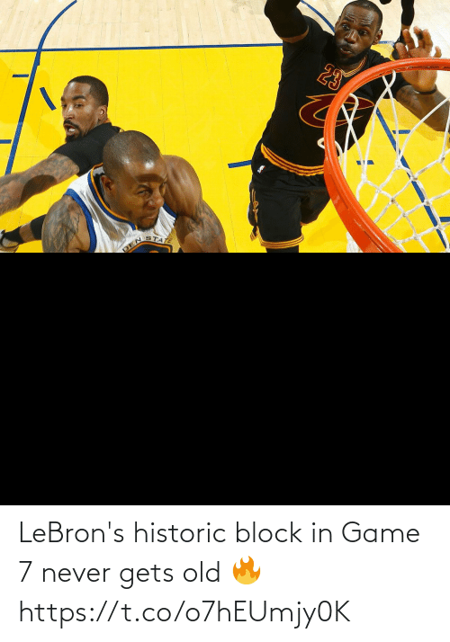 game-7: LeBron's historic block in Game 7 never gets old 🔥 https://t.co/o7hEUmjy0K
