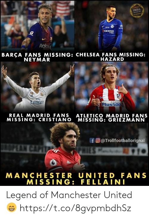Manchester United: Legend of Manchester United 😁 https://t.co/8gvpmbdhSz