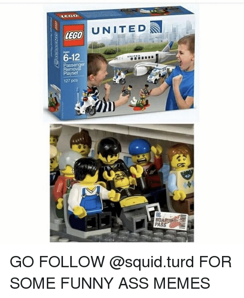 Ass, Funny, and Lego: LEGO  6-12  Pass  layset  127 pcs  UNITED  PASS GO FOLLOW @squid.turd FOR SOME FUNNY ASS MEMES