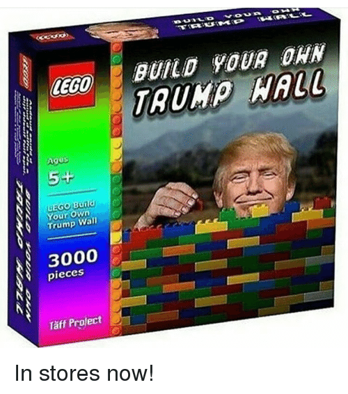 Lego Age: LEGO  Age  5+  Burld  Your own  Wall  3000  pieces  Project  BUILD YOUR DAN  HALL In stores now!