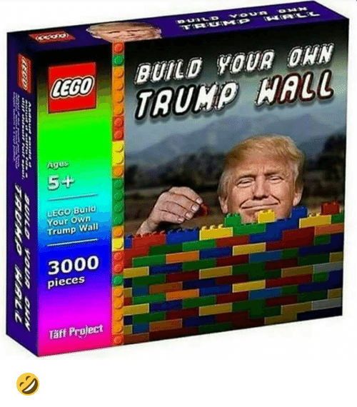 Lego Age: LEGO  Ages  5+  Build  Your Wall  3000  pieces  Taff Project  OMA H  BUILD YOUR DAN 🤣