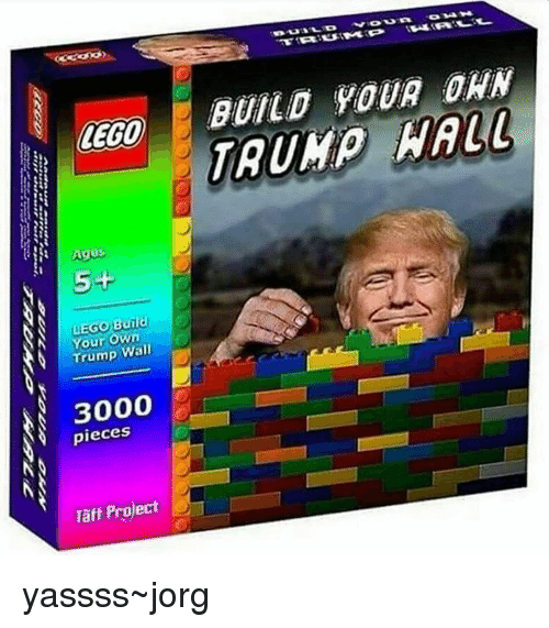 Lego Age: LEGO  Ages  5+  uEGo You  own  Wall  3000  pieces  Taff Project  BUILD YOUR ORN yassss~jorg