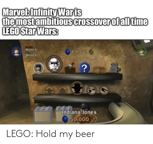 hold my beer: LEGO: Hold my beer