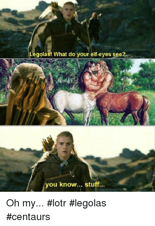 Gay Elf Lord Of The Rings