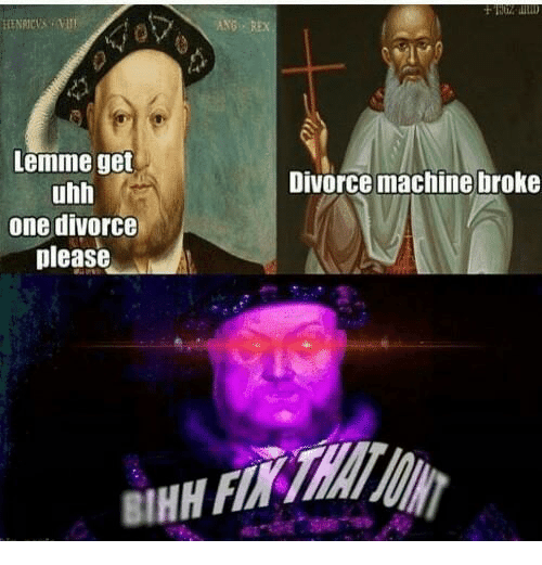 Dank Memes, Ange, and Uhh: Lemme get  uhh  one divorce  please  ANG REx  Divorce machine broke