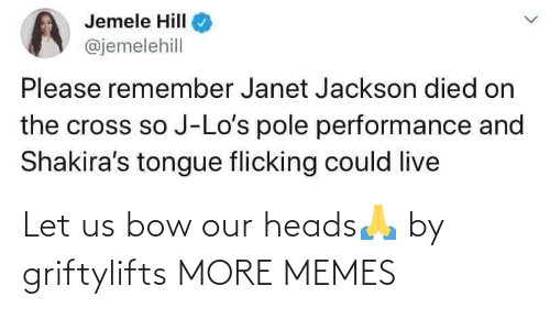 heads: Let us bow our heads🙏 by griftylifts MORE MEMES