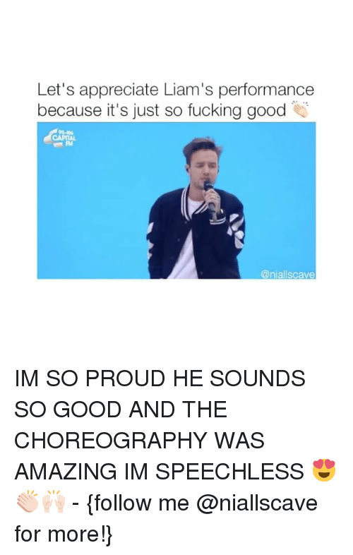 Choreography: Let's appreciate Liam's performance  because it's just so fucking good  @niall scave IM SO PROUD HE SOUNDS SO GOOD AND THE CHOREOGRAPHY WAS AMAZING IM SPEECHLESS 😍👏🏻🙌🏻 - {follow me @niallscave for more!}