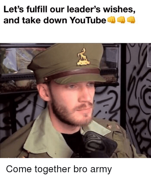 youtubed: Let's fulfill our leader's wishes,  and take down YouTubeD