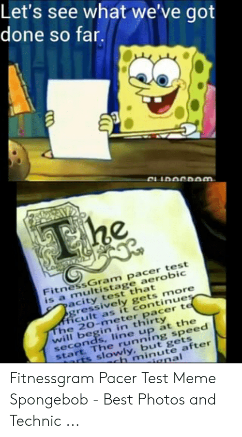 The Fitnessgram Pacer Test Meme Copy And Paste - All ...