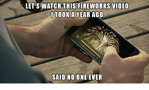Video: LET'S WATCH THIS FIREWORKS VIDEO  SAID NO ONE EVER