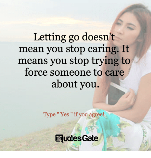 how to stop caring so much about someone