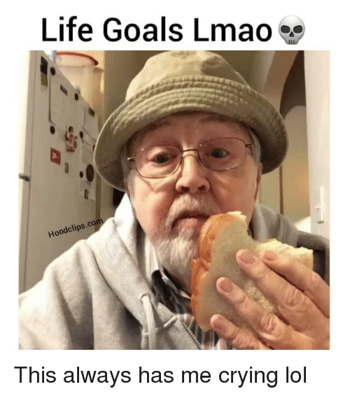 Crying, Funny, and Goals: Life Goals Lmao  ood clips. This always has me crying lol