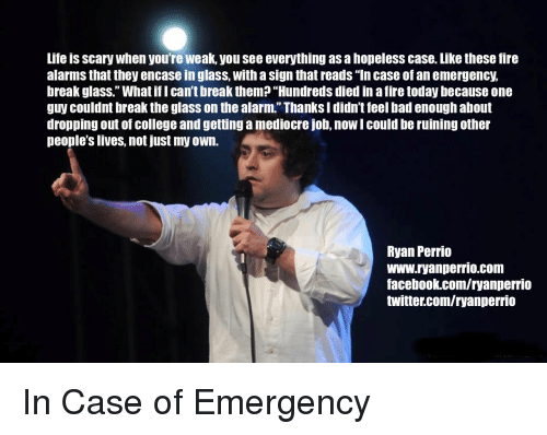 in case of emergency everything document