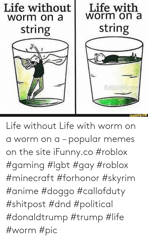 DnD: Life without Life with worm on a worm on a – popular memes on the site iFunny.co #roblox #gaming #lgbt #gay #roblox #minecraft #forhonor #skyrim #anime #doggo #callofduty #shitpost #dnd #political #donaldtrump #trump #life #worm #pic