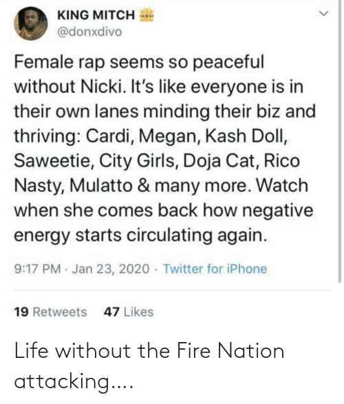 Nation: Life without the Fire Nation attacking….