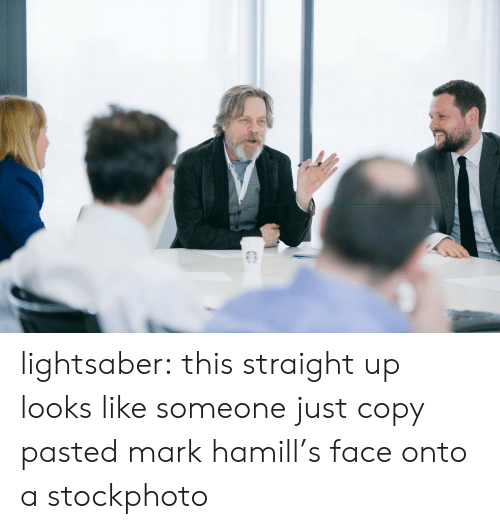 stockphoto: lightsaber:  this straight up looks like someone just copy pasted mark hamill's face onto a stockphoto