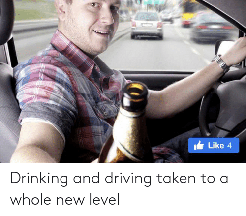 drinking and driving: Like 4 Drinking and driving taken to a whole new level