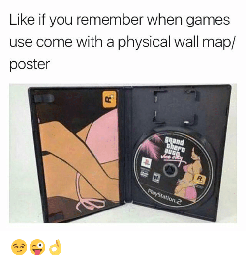 Games, Physical, and Map: Like if you remember when games  use come with a physical wall map/  poster  and  tatio 😏😜👌