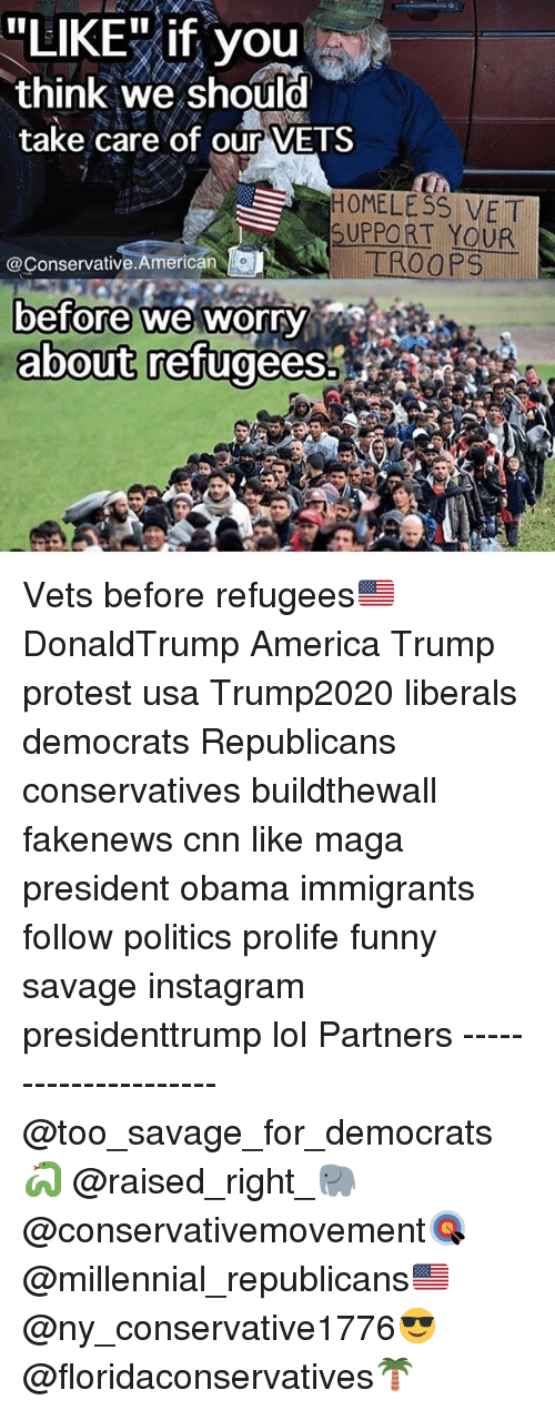 "Trump Protesters: ""LIKE"" if you  think we should  take care of our VETS  H0MELESS VET  SUPPORT YOUR  @Conservative.American  before we worry  about refugees. Vets before refugees🇺🇸 DonaldTrump America Trump protest usa Trump2020 liberals democrats Republicans conservatives buildthewall fakenews cnn like maga president obama immigrants follow politics prolife funny savage instagram presidenttrump lol Partners --------------------- @too_savage_for_democrats🐍 @raised_right_🐘 @conservativemovement🎯 @millennial_republicans🇺🇸 @ny_conservative1776😎 @floridaconservatives🌴"