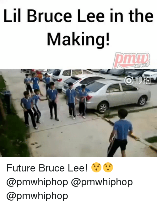 Future, Memes, and Bruce Lee: Lil Bruce Lee in the  Making!  HIPHOP Future Bruce Lee! 😯😯 @pmwhiphop @pmwhiphop @pmwhiphop