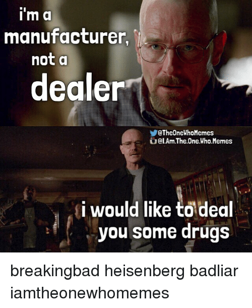 Broke Drug Dealer Meme
