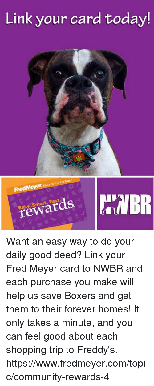 Link Your Card Today! List Today? FredMeyer Whats on Your ...