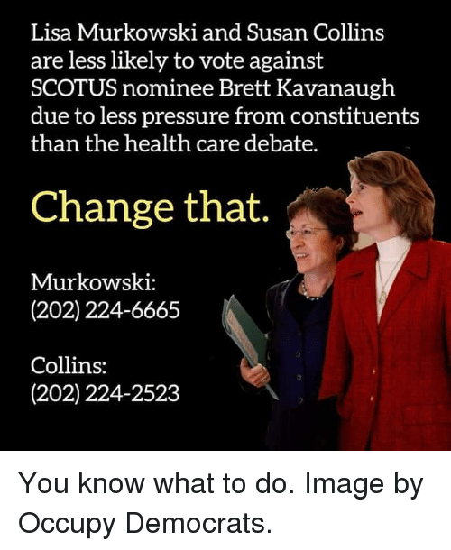 Image result for photos of susan collins lisa murkowski