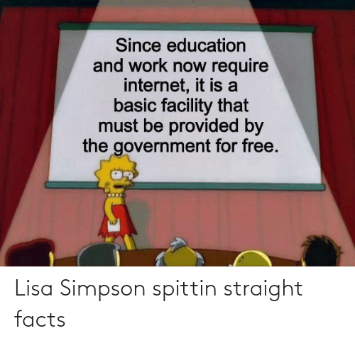 Facts: Lisa Simpson spittin straight facts