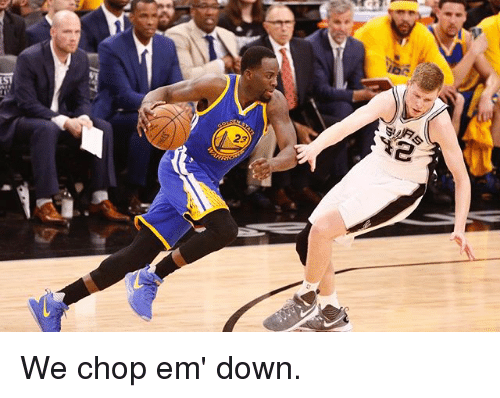 Basketball, Golden State Warriors, and Sports: LiSl  Y2  23  23 We chop em' down.