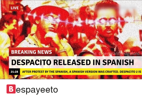 how to sing despacito in spanish